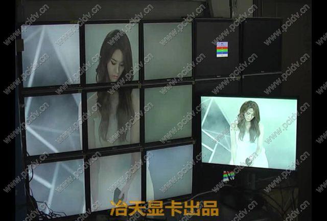 pcidv.com/多屏拼接画面回传至本地电脑显示,同步操作LED大屏监控电视墙