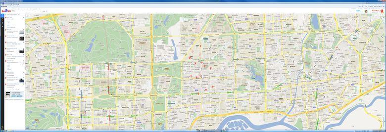 8K*3K百度地图全景实时浏览8960*3072分辨率
