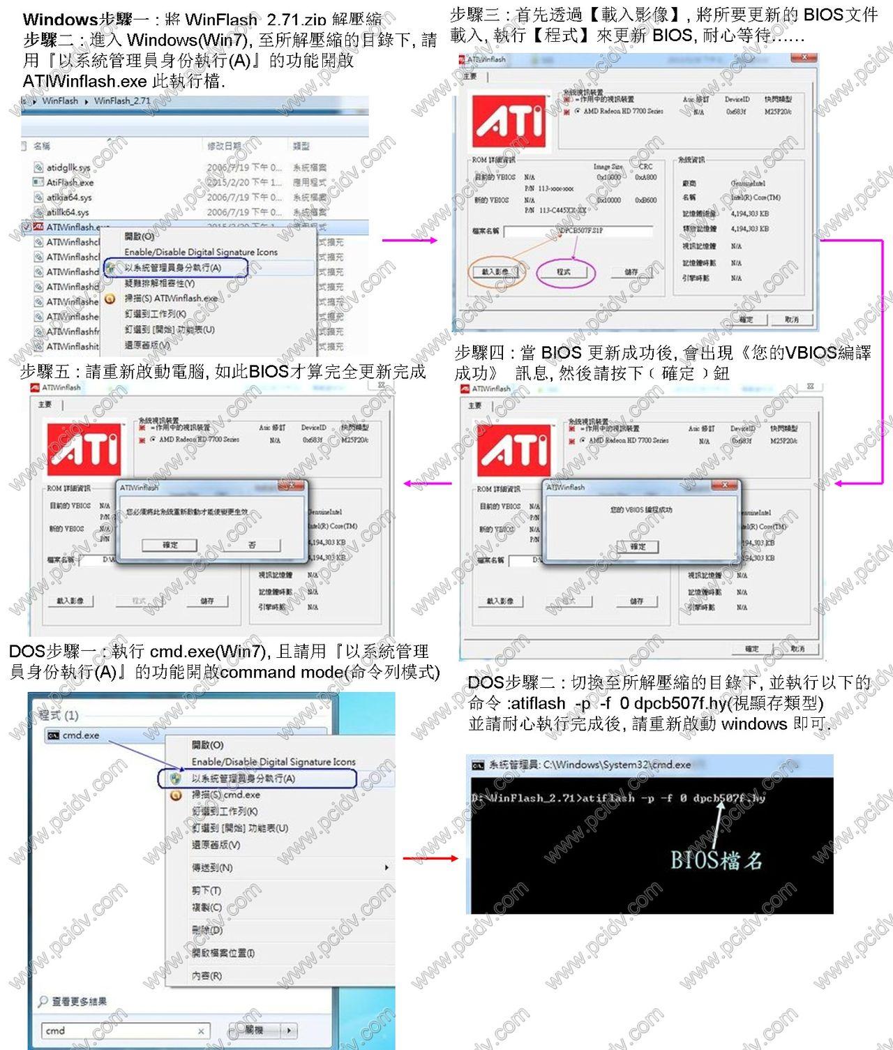 pcidv.com/windows下刷bios软件winflash最新版